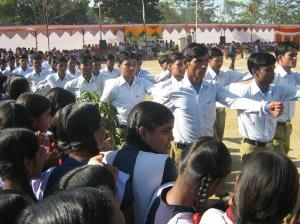 Republic Day Celebrations 26 January 2009 Pragati Maidan Malanjkhand Malanjkhand Copper Project. Balghat Dist. M P State India